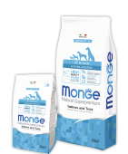 Monge ALL BREEDS ADULT HYPOALLERGENIC SALMONE & TUNA Монж Гипоаллергенник, 12кг.