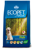Ecopet Natural Fish Mini Экопет Эдалт Мини с рыбой
