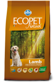 Ecopet Natural Lamb Экопет Эдалт с ягненком
