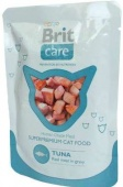 BRIT Care Adult Cat Tuna Брит Пауч Туна, 80гр.