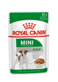 Royal Canin Mini Adult Мини Эдалт Пауч в соусе, 85гр.
