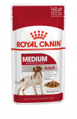 Royal Canin Medium Adult Медиум Эдалт Пауч в соусе, 140гр.