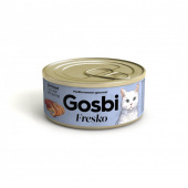 Gosbi FRESKO CAT STERILIZED TUNA FILLET WITH SHRIMPS Госби конс.д/к Стерилайзд Филе тунца с креветками, 70гр.