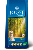Ecopet Natural Fish Maxi Экопет Эдалт Макси с рыбой