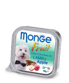 Monge Dog Fruit Монж ламистр ягненок с яблоком, 100гр