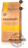 Grandorf 4 Meat & Brown Rice (Adult Mini 1-10 kg) Грандорф Мини 4 вида мяса/пробиотик