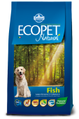Ecopet Natural Fish Экопет Эдалт с рыбой