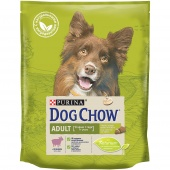 DOG CHOW Adult Дог Чау Эдалт Ягненок / рис, 14кг.